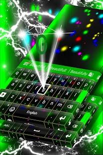 LED klávesnice - náhled