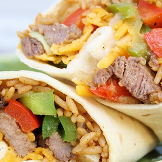 Steak Fajita Burritos