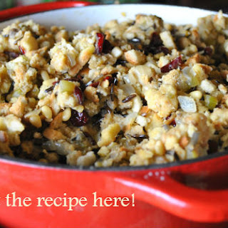 Homemade Vegan Stuffing Recipe | Wild Rice, Cranberries, and Pine Nuts