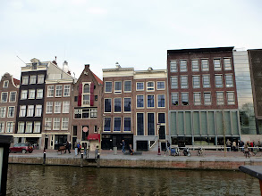Photo: Anne Frank's House -- no photos were allowed inside unfortunately