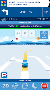 AfriGIS Navigator- screenshot thumbnail