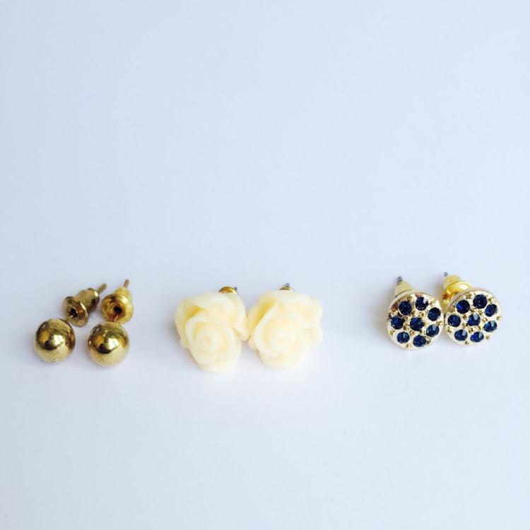 E038 - M. Garden Medley Earrings