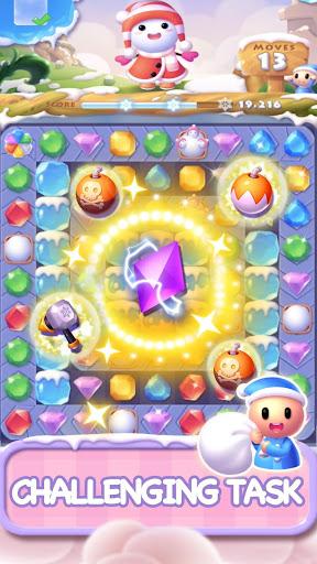 Ice Crush 2018 - Une nouvelle aventure de puzzle  captures d'écran 3