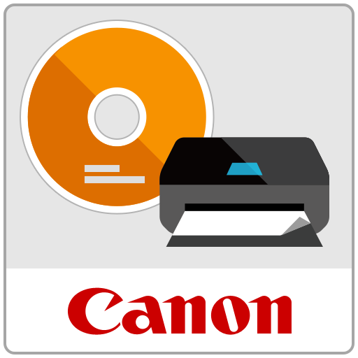 Disc Label Print Icon
