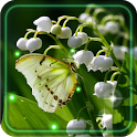 Lily of valley HD LWP icon