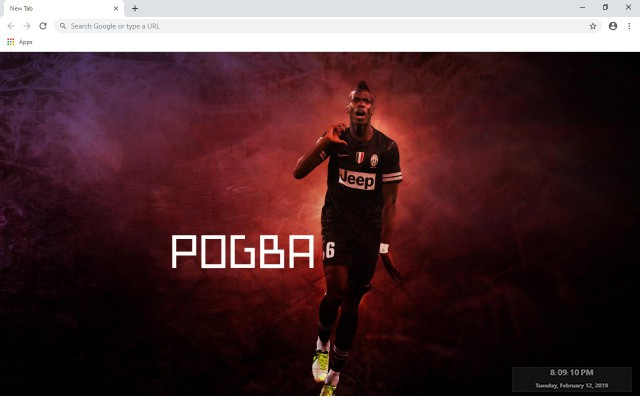 Paul Pogba New Tab & Wallpapers Collection