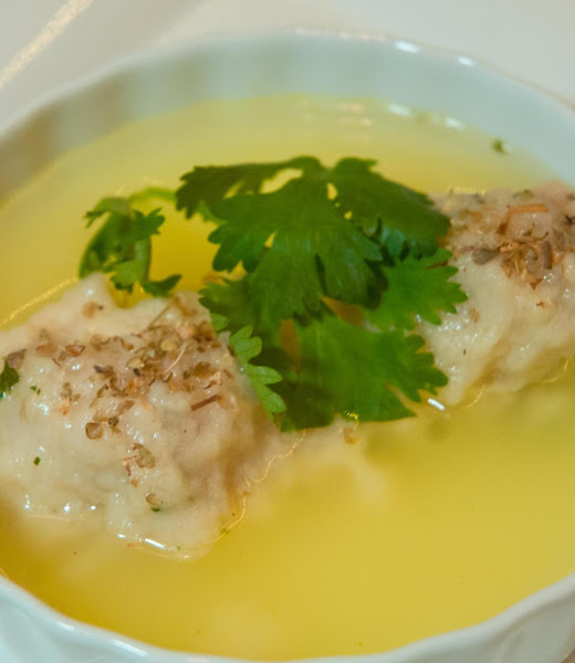 Autumn Essentials: Herb & Cheddar Dumplings Recipe