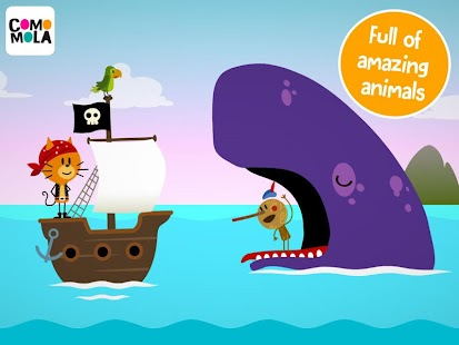Comomola Pirates: App for kids- screenshot thumbnail