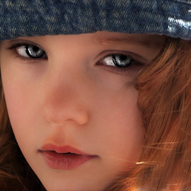 Those Eyes by Cheryl Korotky - Babies & Children Child Portraits