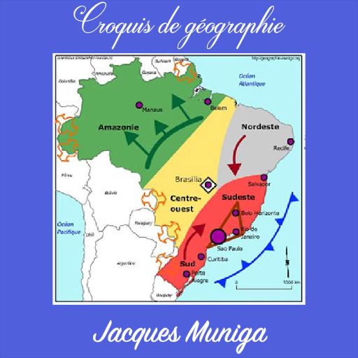 carte les dynamiques territoriales du brésil Croquis Bac Dynamiques Brésil – Programme op Google Play