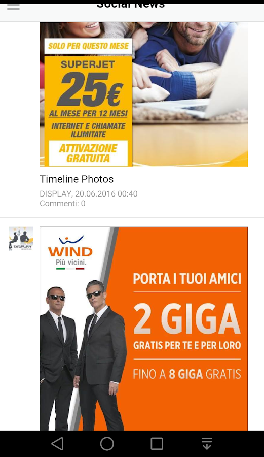 DISPLAY di Lombardo Roberto- screenshot