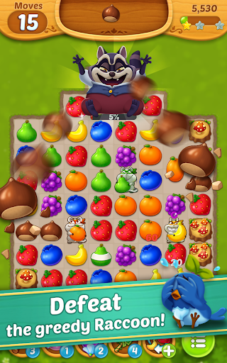 Fruits Mania : Fairy rescue  screenshots 2