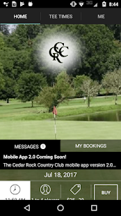 Cedar Rock Golf Tee Times- screenshot thumbnail