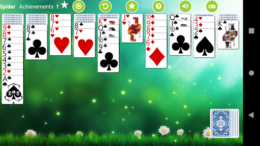 Spider Solitaire Free 2.4 screenshots 3