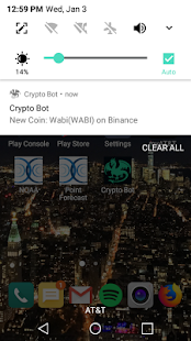 Crypto Tracker Bot - náhled
