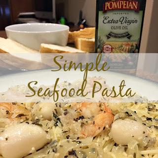 Simple Seafood Pasta
