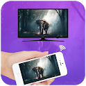 Screen Mirroring with TV : Play Video on TV icon