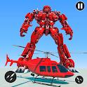 US Police Car Transform Robot War Rescue 2020 icon