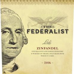 Logo for The Federalist Lodi Zinfandel