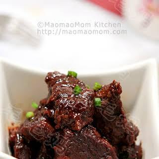 Braised Beef Shank in Soybean Paste 酱烧牛肉.