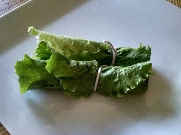 Roast Beef Lettuce Roll Up Appetizer Recipe