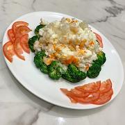 TS24. Fried Egg White & Fish Maw