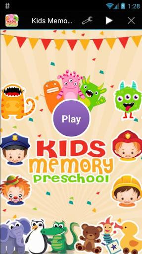 Kids Memory Preschool Game