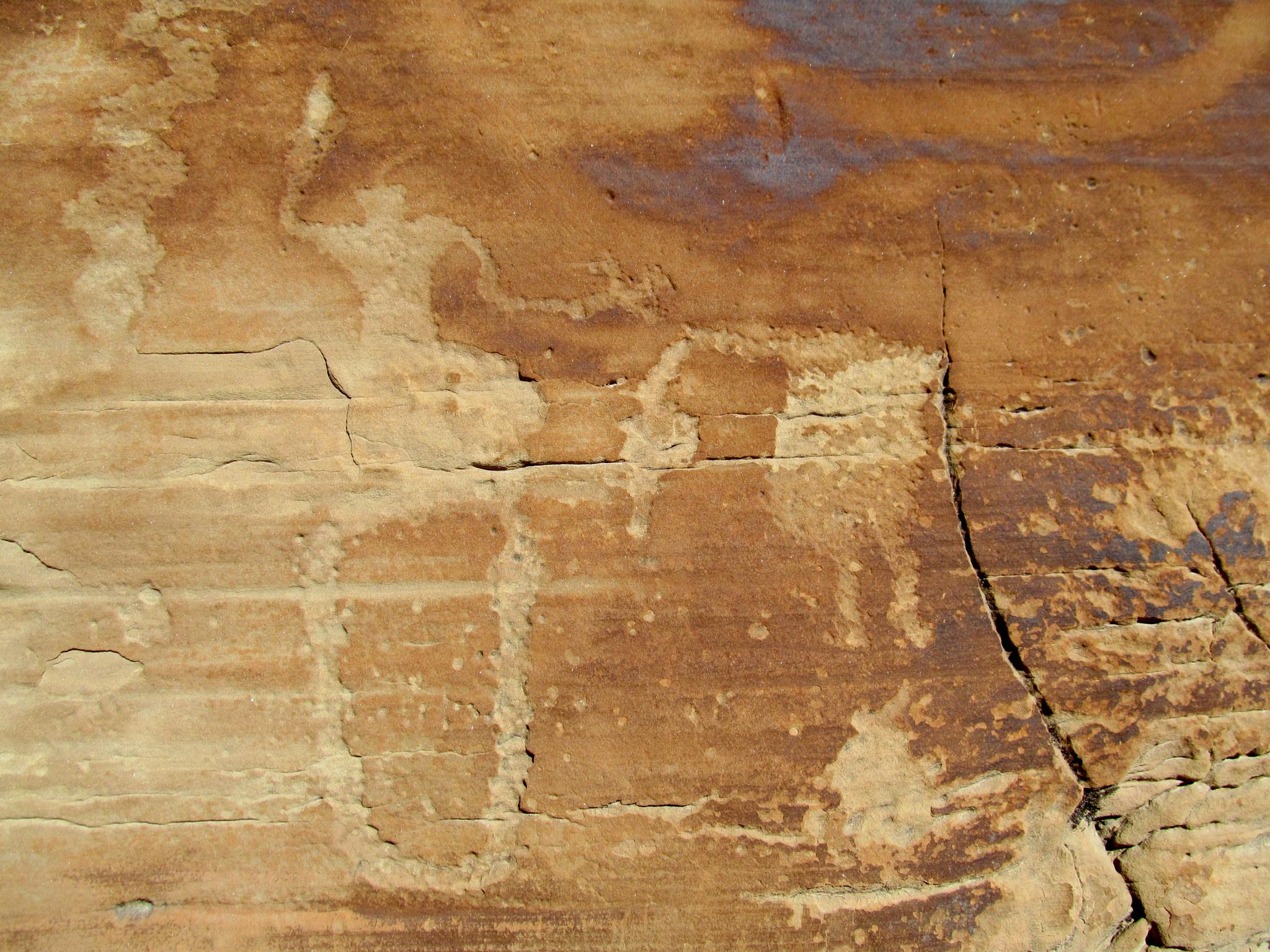 Photo: Possible headhunter petroglyph
