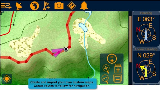 PathAway Express - Outdoor GPS- screenshot thumbnail