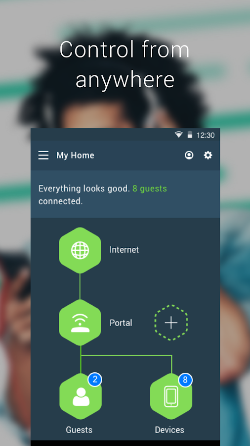 Portal Smart WiFi Router- screenshot