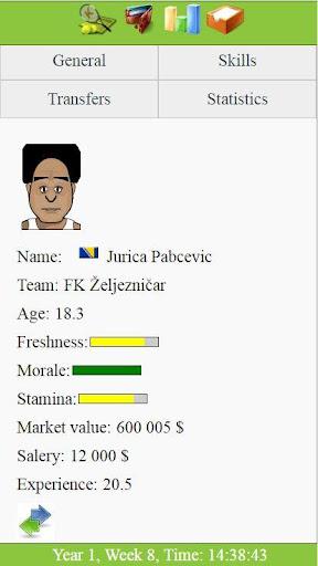 Kickoff - Football Tycoon Manager Game filehippodl screenshot 4