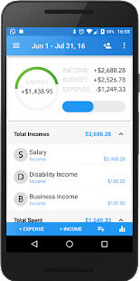 Family Budget Finance Tracking - náhled
