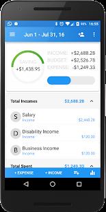 Family Budget Finance Tracking - náhled