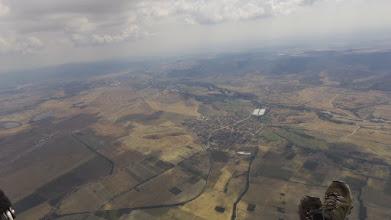 Photo: Сопот, 20.8.2016 - крайната цел за деня - с.Дъбене, където е поникнала перушината на много парапланеристи, включително и на мен.
