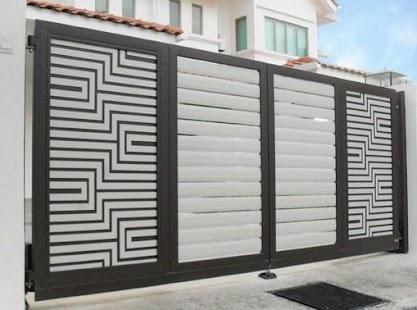 Fence House Design Idea New - náhled