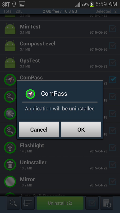 Uninstaller - Uninstall App- screenshot