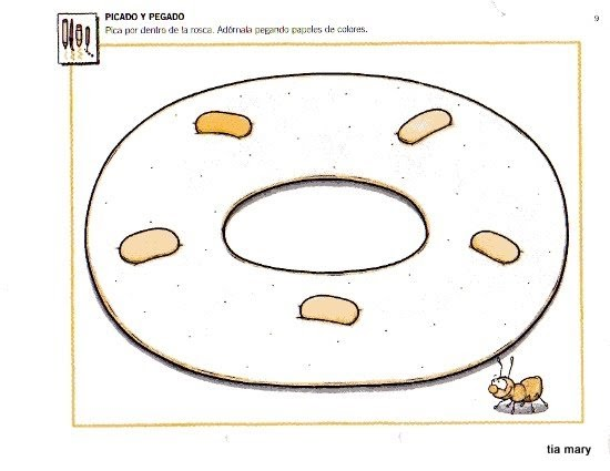 Dibujo De Rosca De Reyes Para Colorear: Escola De Educação Infantil Mundo Da Criança