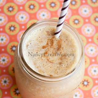 Pumpkin Pie Smoothie with Kefir from Redwood Hill Farm