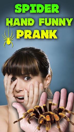 Spider Hand Funny Prank  screenshots 6
