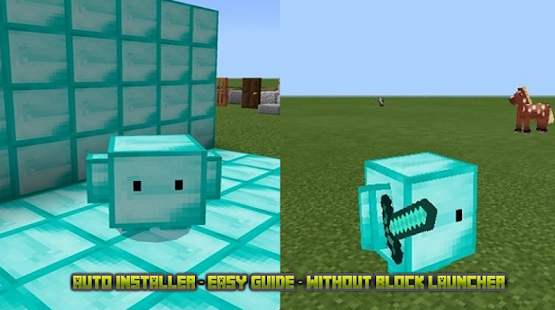 Blokkit skin pack for mcpe - náhled
