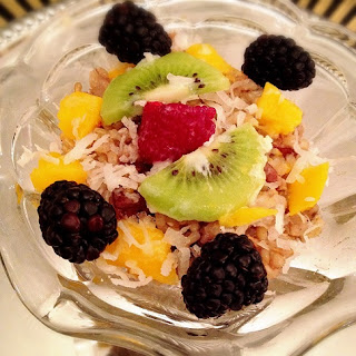 Remixed Coconut Rice Pudding