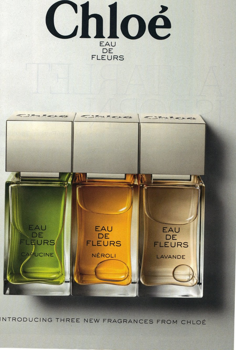 Chloe Eau de Fleurs [Simple and Stylish Advertising]