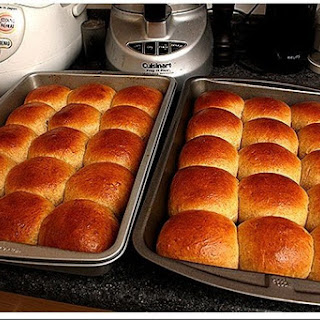 Soft Pull-apart Wheat Rolls, With Sourdough Starter Or Active Dry Yeast.