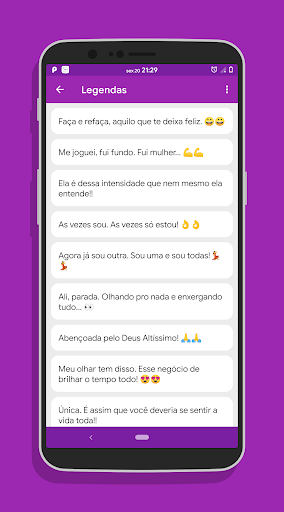 Legenda Para Foto Sozinha App Report On Mobile Action App