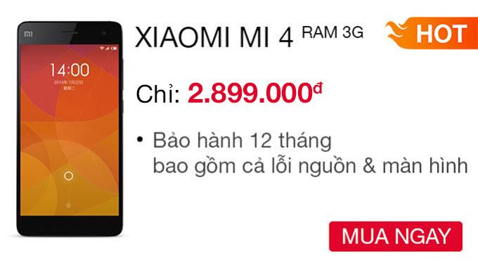 Xiaomi Mi 4 16 GB -Ram 3G- CellphoneS