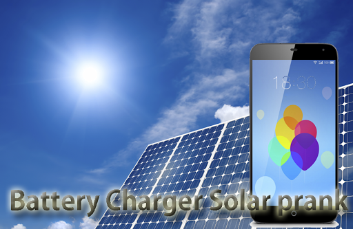 Battery Charger Solar prank