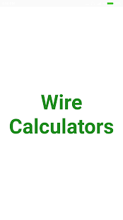 Wire calculator android apps on google play wire calculator screenshot thumbnail greentooth Choice Image