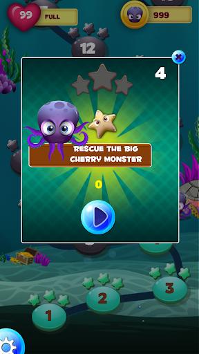 バブルヒトデやタコ Bubble Octopus