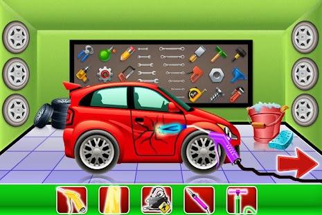 Car Wash a oprava Salon - náhled