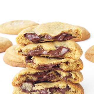 Thick and Chewy Chocolate Chip Cookies.